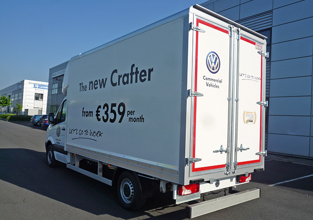 Crafter rear view