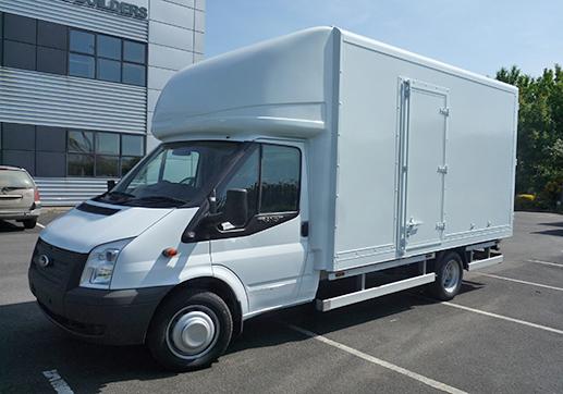 Transit Lightweight Luton body with side door