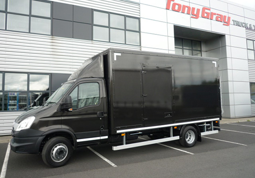 5Mtr Box Body Front View