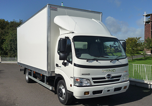 Hino 300 top of cab