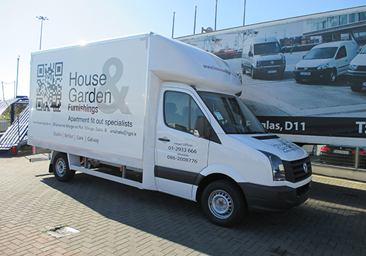 VW crafter moulded luton