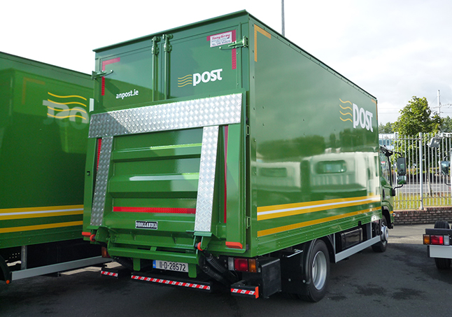 5.5Mtr GRP with tail lift
