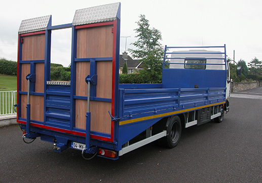 Beavertail with Hydraulic Ramps